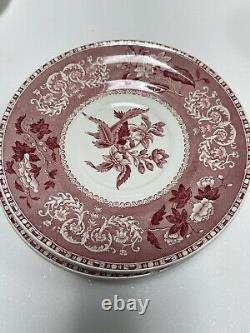 Vintage Red Tea/Coffee Set Spodes Camilla Copeland