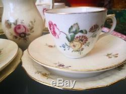 Vintage Royal Copenhagen Frijsenborg Coffee Set 6 Trios, Coffee Pot, Jug & Plate