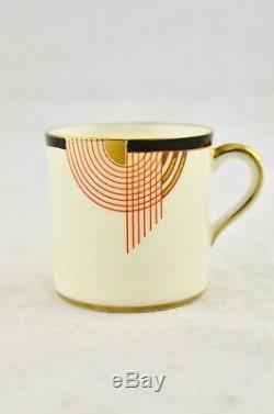 Vintage Royal Doulton Art Deco Tango (V1482) Coffee Set