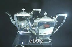 Vintage Sterling Silver By Gorham Fairfax 8 pc. Coffee Tea Set No Monograms