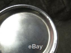 Vintage Sterling Silver Overlay/Clad Rosenthal China Porcelain Coffee Set 3 pcs