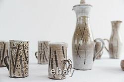 Vintage Studio Pottery Coffee Set by Mask Pottery St Ives