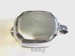 Vintage Tiffany & Co. HAMPTON Sterling Silver 3-Piece Coffee / Tea Set #18889