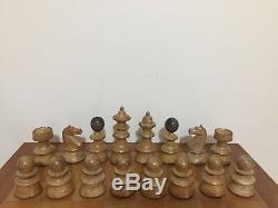 Vintage Vienna Coffee House Chess Set, King 110mm