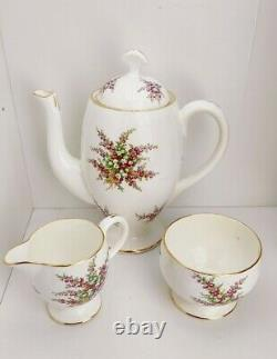 Vintage hammersley coffee Set bone china 1930-1940's