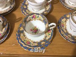 Vintage paragon Coffee set Pompadour 1950