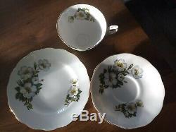 Vintage royal Standard Harlequin 18pc Teaset coffee set floral
