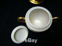 Vtg Flintridge China California Royal Chateau Chocolate Tea Coffee Set EUC
