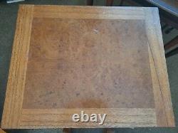 3 X Tables De Café Vintage En Bois Nesting Ensemble De Table Latérale