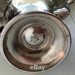 Assiette En Argent Vintage Reproduction Anglaise Vintage Sur Ensemble De Café Thé Raisins Cuivre