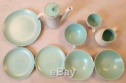 Assortiment De Salle À Manger Twintone Vintage 8 Poole Pottery 6 Service À Café Avec Thé 52 Articles