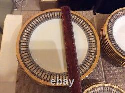 Auratic Japonais Vintage Dinner, Thé Et Café Ensemble De 6