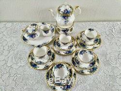 Bueatiful Set Royal Albert Moonlight Rose Vintage Set Thé, Café Mis En Porcelaine