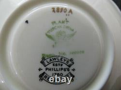 Café Art Déco Vintage Usine Tuscanware Ensemble À Vgc Par Lawley 15 Débitait Pièce