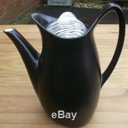 Century Rare Vintage MID Midwinter Tonga Coffee Set Par Jessie Tait
