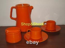 Ceramica Franco Pozzi Gallarate Servizio Caffè Caffettiera Vintage Set Café