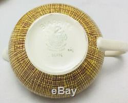 Ensemble Café / Espresso Bern Villeroy & And Boch Bern Pour 6 Mettlach Vintage
