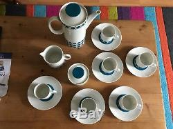 Ensemble De Café Allemand Allemand Vintage Rétro Des Années 1960, Style Atomic, Bavière