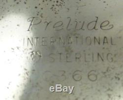 Ensemble De Thé Et Café Avec Sterling Vintage, 5 Pièces Vintage Prelude-plain International