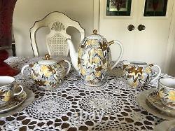 Golden Chamomile Lfz Lomonosov Urss- Cafetière