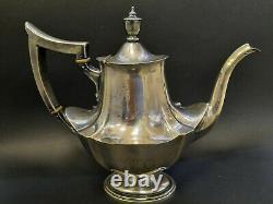 Gorham Vintage Sterling Silver Tea Coffee Service Set 5 Pièces