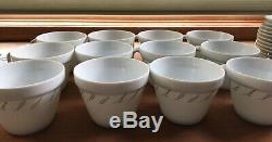 Jal Japan Airlines 12 Cup & Saucer Sets Noritake Vtg Publicité Thé Café