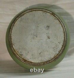 Lincoln Beautyware Avocado Canister Set Farine Tea Sugar Coffee Rare Vintage MCM