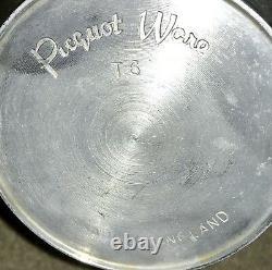 MID Century Vintage 5 Pièces Picquot Ware Tea Café Sugar Lait Set W Plateau