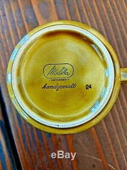 Melitta Allemagne Vintage Petit Déjeuner Café Ensemble Milieu Du Siècle Mod De Copenhague 1960