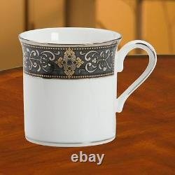 Mugs De Café Lenox Vintage Jewel, Lot De 4