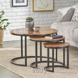 Nid De 2 3 Tables Tables Nichées Table De Coffee Side End Table Hallway Salle De Séjour