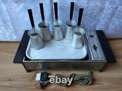 Rare Set Vintage Soviet Coffee Machine Sur Le Sable Espresso Maker Ussr Turka