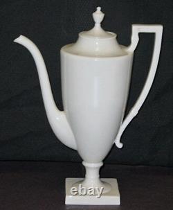 Rare! Vintage Lenox Chine Pot De Café Colonial Crémateur Et De Sucre Set Menthe