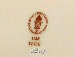 Rare Vintage Royal Derby 6 Pièces Old Imari Miniature Thé / Café Set 1128