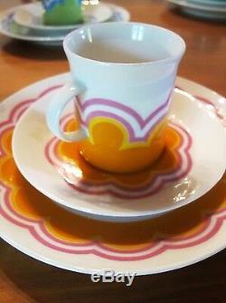 Rosenthal Kaffee Service Original Berlin Theo Baumann 10 Pers. Service À Café Vintage