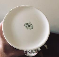 Royal Tuscan C8363 Set De 8 Cafetières En Chocolat Et Biscuits En Os De Chine Vintage De L'angleterre