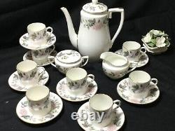 Royal Worcester June Garland 72pc Dinner Service Tea & Coffee Sets X 8 Ex Cond