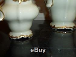 Service À Café Baroque Or Vintage Rosenthal Chine Selb Allemagne Pompadour