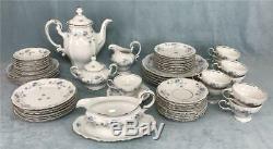 Service À Café En Porcelaine De Chine Garland Vintage Johann Haviland Blue Service 54-pcs