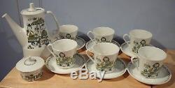 Service À Café Vintage 16 Pièces Figgjo Flint Market Norvège Turi Design
