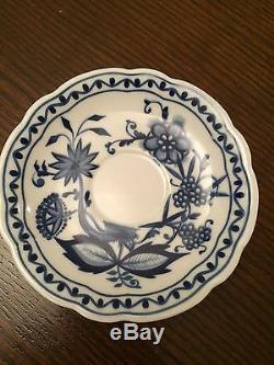 Service À Thé / Café En Porcelaine Vintage Kahla Pour 4/11 Pièces