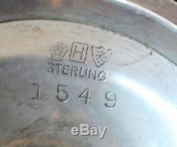 Service À Thé Et Café Jordan Marsh Vintage En Argent Sterling