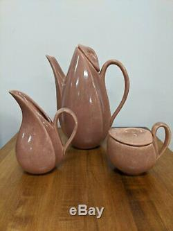 Set Chocolat Vintage Glaze Thé / Café, Cir 1940