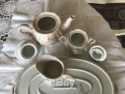 Set De Café / Café En Porcelaine Schumann Bavaria-arzberg Allemagne-rose Blush Vintage