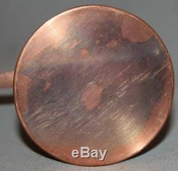 Set Vintage Copper Pot Café Turc Et 5 Coupes