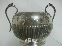 Silverplate Vintage Epbm Cooper Bros & Wilsons De Thé Service À Café 1930 Penrith