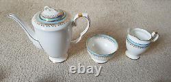 Starline Vintage Coffee Set Fine Bone China Stunning Set Motif Rare