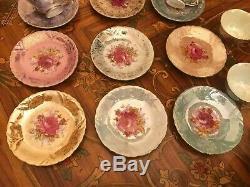 Vintage 12 Tasses 12 Soucoupes Japonais Maruei Porcelaine Sets De Café