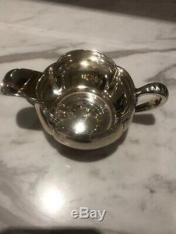 Vintage 3 Pc. Thé En Argent Sterling / Café Set 718.96 Grammes