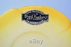 Vintage Brad Keeler Artwares Tulip Demitasse Café De 1940 Un Ensemble De 15